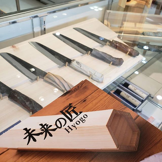 ただいま髙島屋難波で未来の匠展示販売しています。4/9まで!
