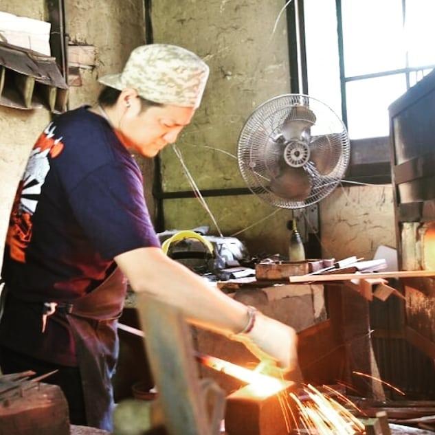 「未来の匠Hyogo」協力者の鍛冶屋さんに見学体験!春休みに開催ですが、すでに午前満席、午後の部も残席1組となりました!