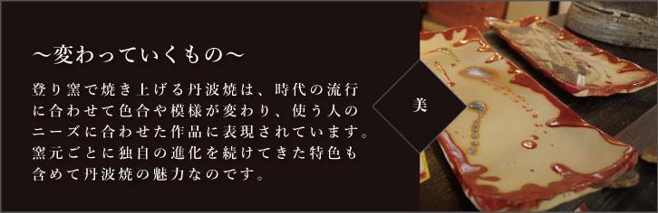 コンセプト「美(変わっていくもの)」